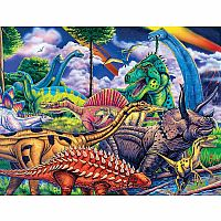 11841M Dinosaur Friends Puzzle - 100 pc