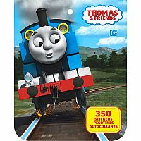 Stkr Book Thomas and Friends