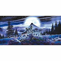 34626 Puzzle Night Wolves
