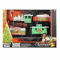 89198M Musical Christmas Train G Scale