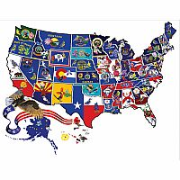 95995 Puzzle America The Beautiful