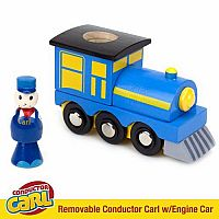 TCON101 Conductor Carl Wooden Train